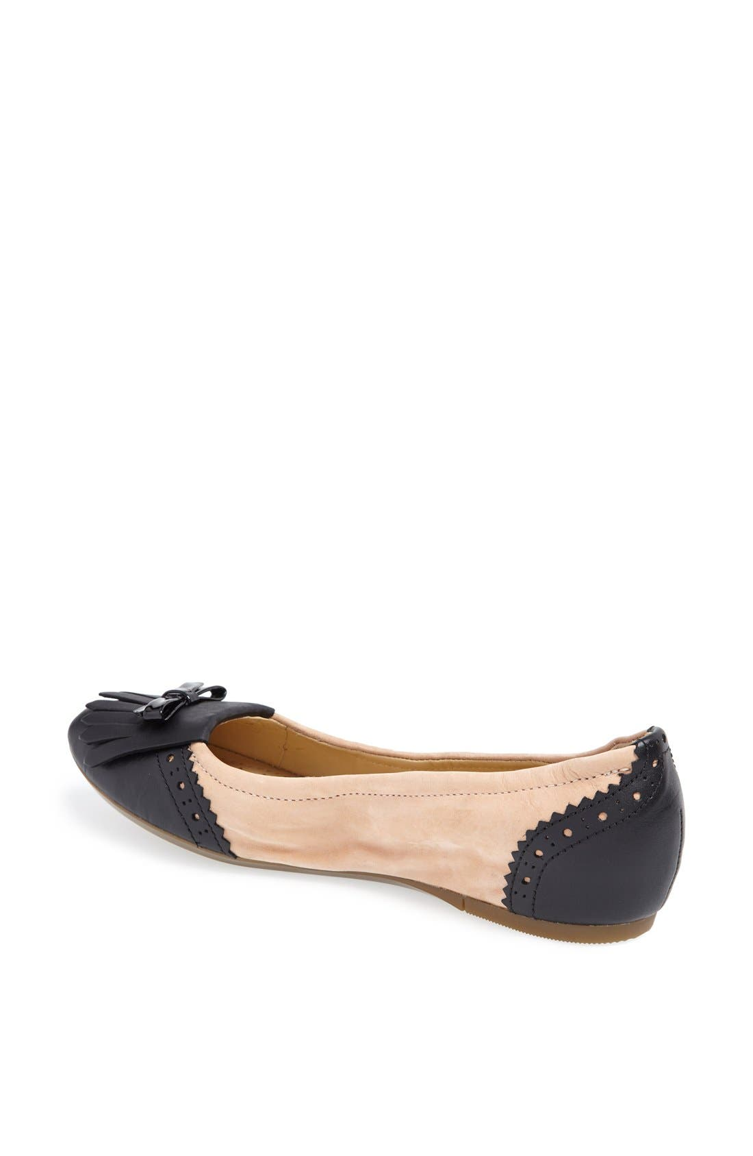 Alternate Image 2  - Geox 'Karima' Leather Flat