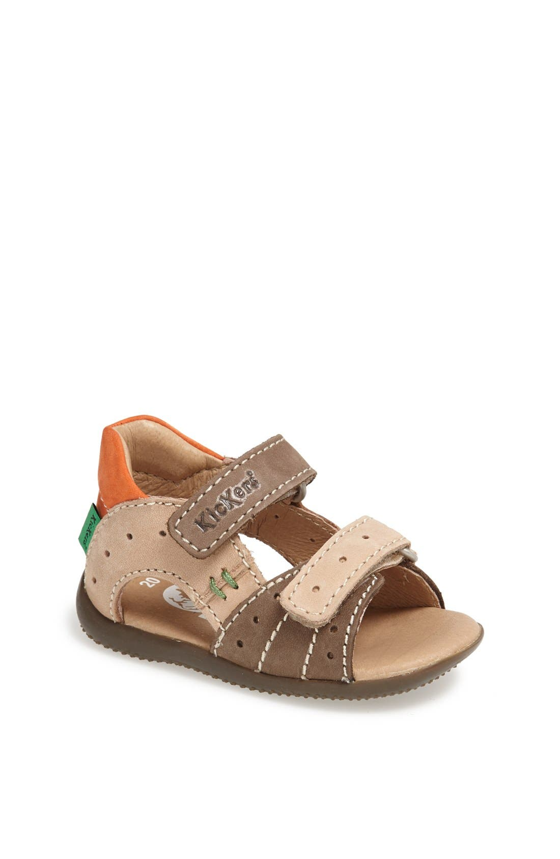 Alternate Image 1 Selected - Kickers 'Boping 2' Sandal (Baby, Walker & Toddler)