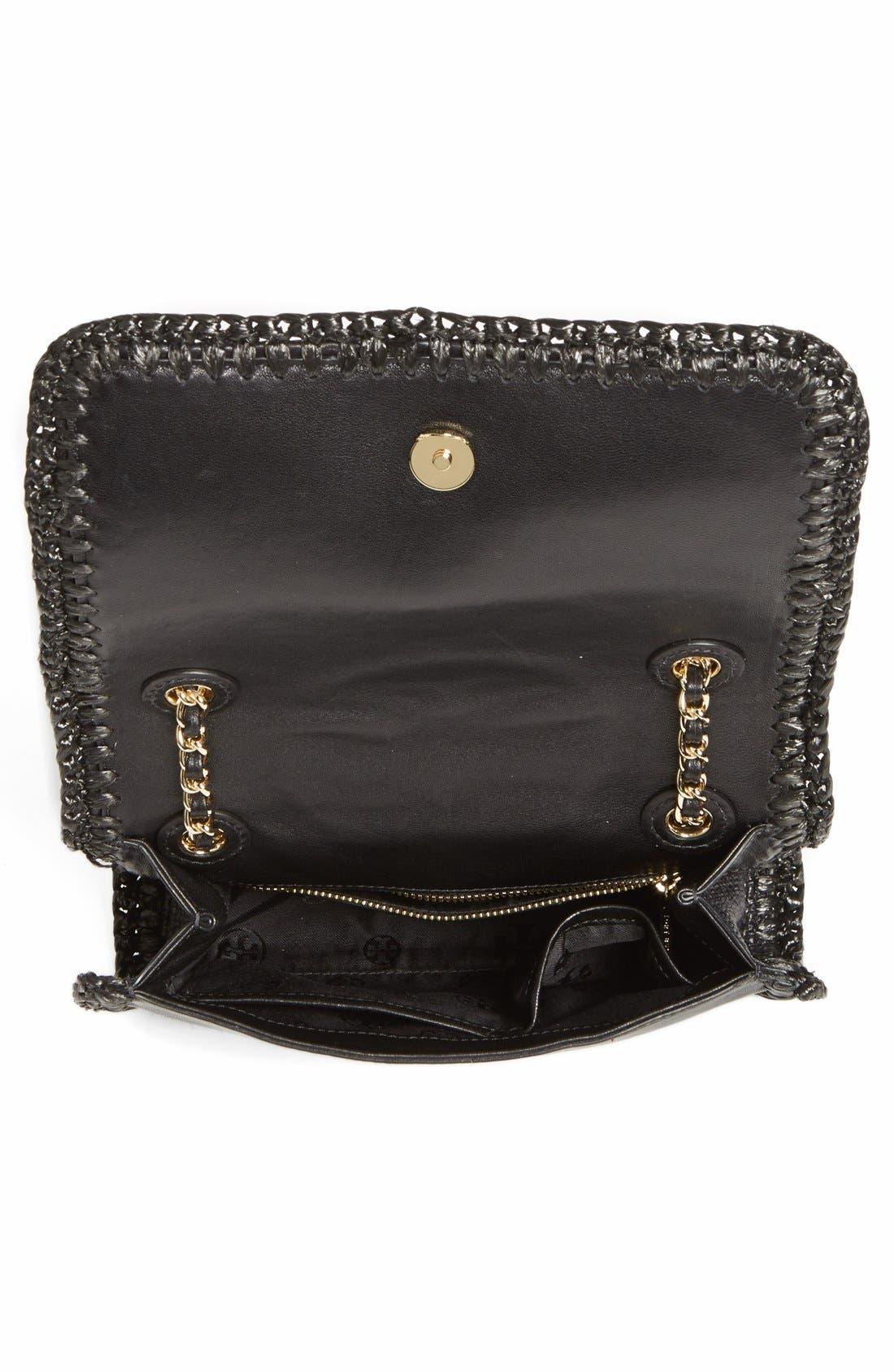 Alternate Image 3  - Tory Burch 'Medium Fleming' Woven Shoulder Bag