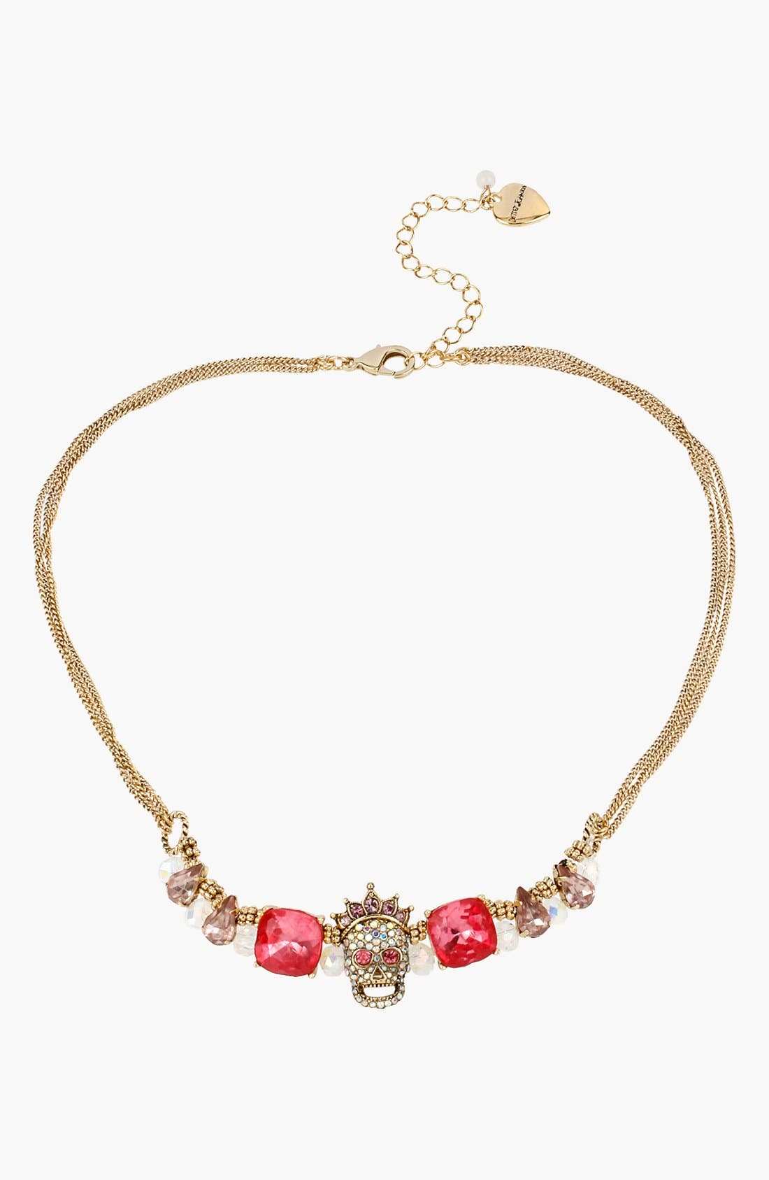 Alternate Image 1 Selected - Betsey Johnson 'Prom Party' Frontal Necklace