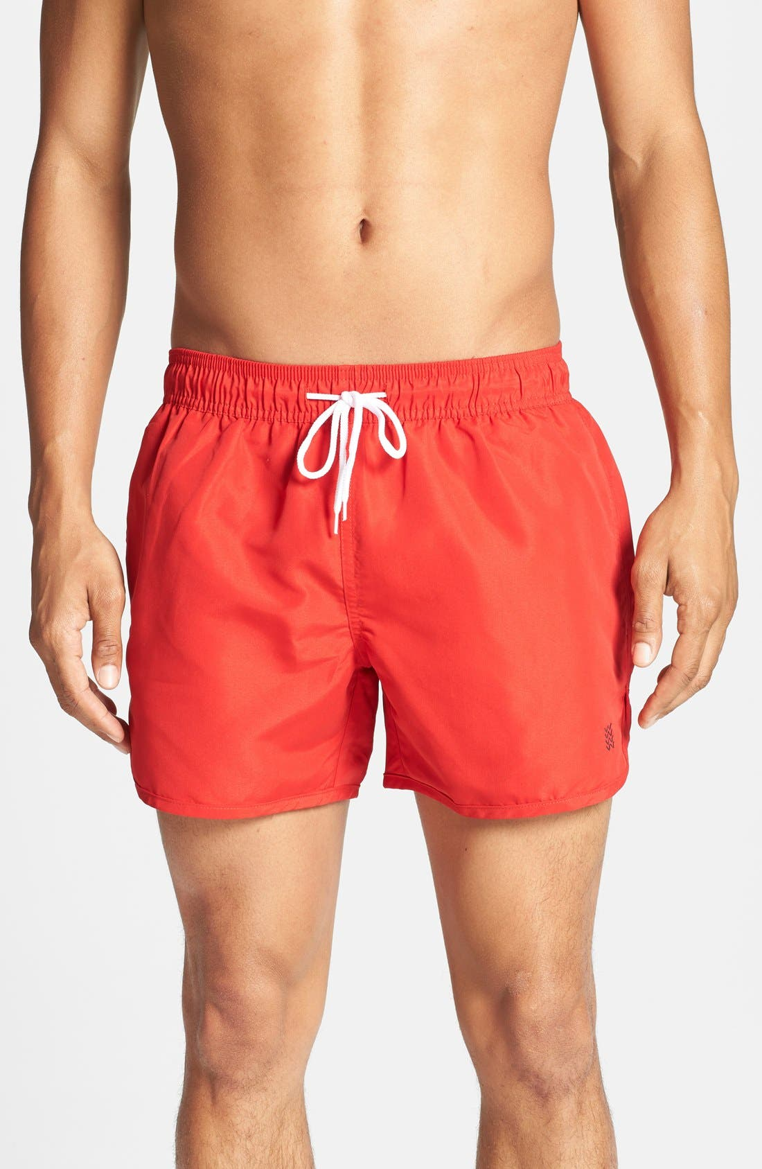 Alternate Image 1 Selected - Topman Swim Trunks