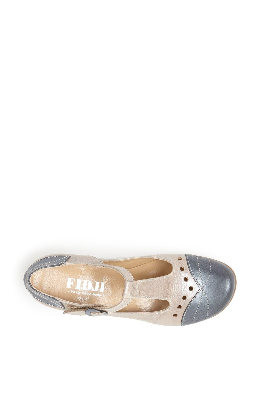 Alternate Image 3  - Fidji Metallic Leather Mary Jane
