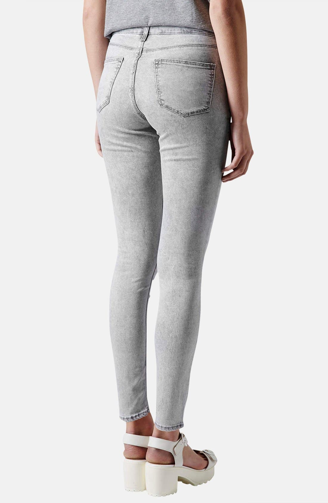 Alternate Image 2  - Topshop Moto 'Leigh' Skinny Ankle Jeans