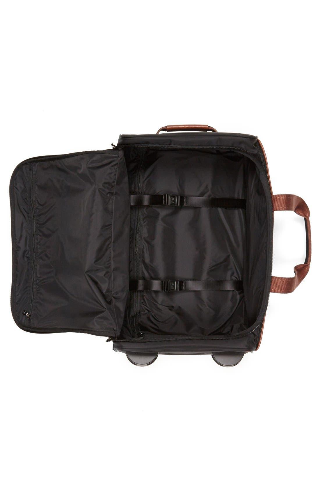 Alternate Image 2  - Longchamp 'Small Le Pliage' Wheeled Travel Bag