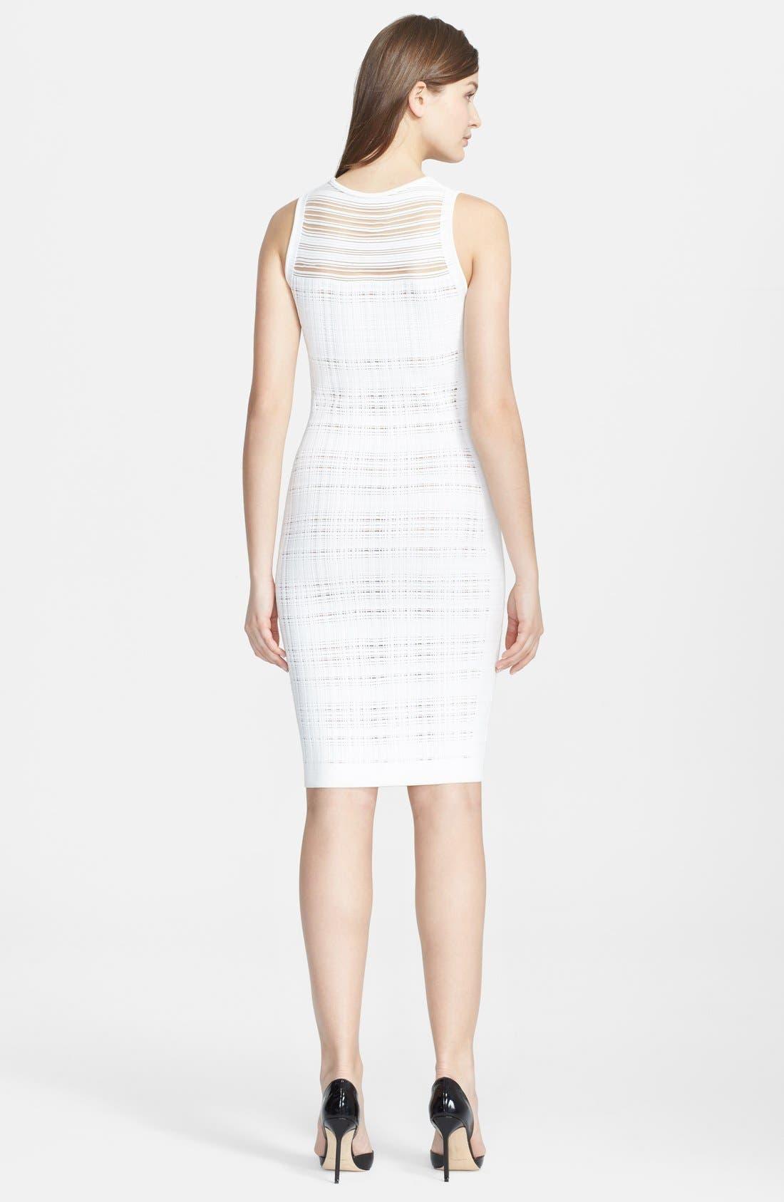 Alternate Image 2  - Narciso Rodriguez Illusion Sheath Dress