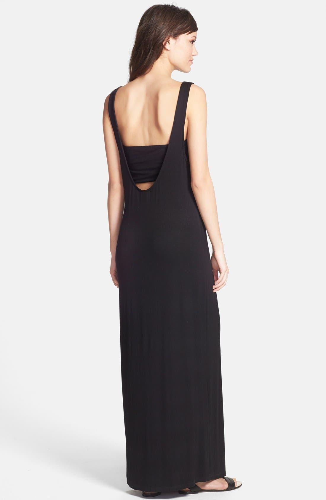 Alternate Image 2  - June & Hudson Maxi Dress & Bandeau
