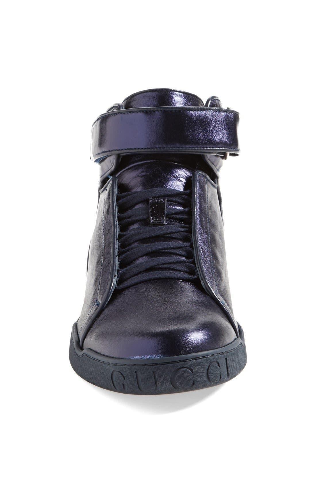 Alternate Image 3  - Gucci 'Mel Mid' Metallic Sneaker
