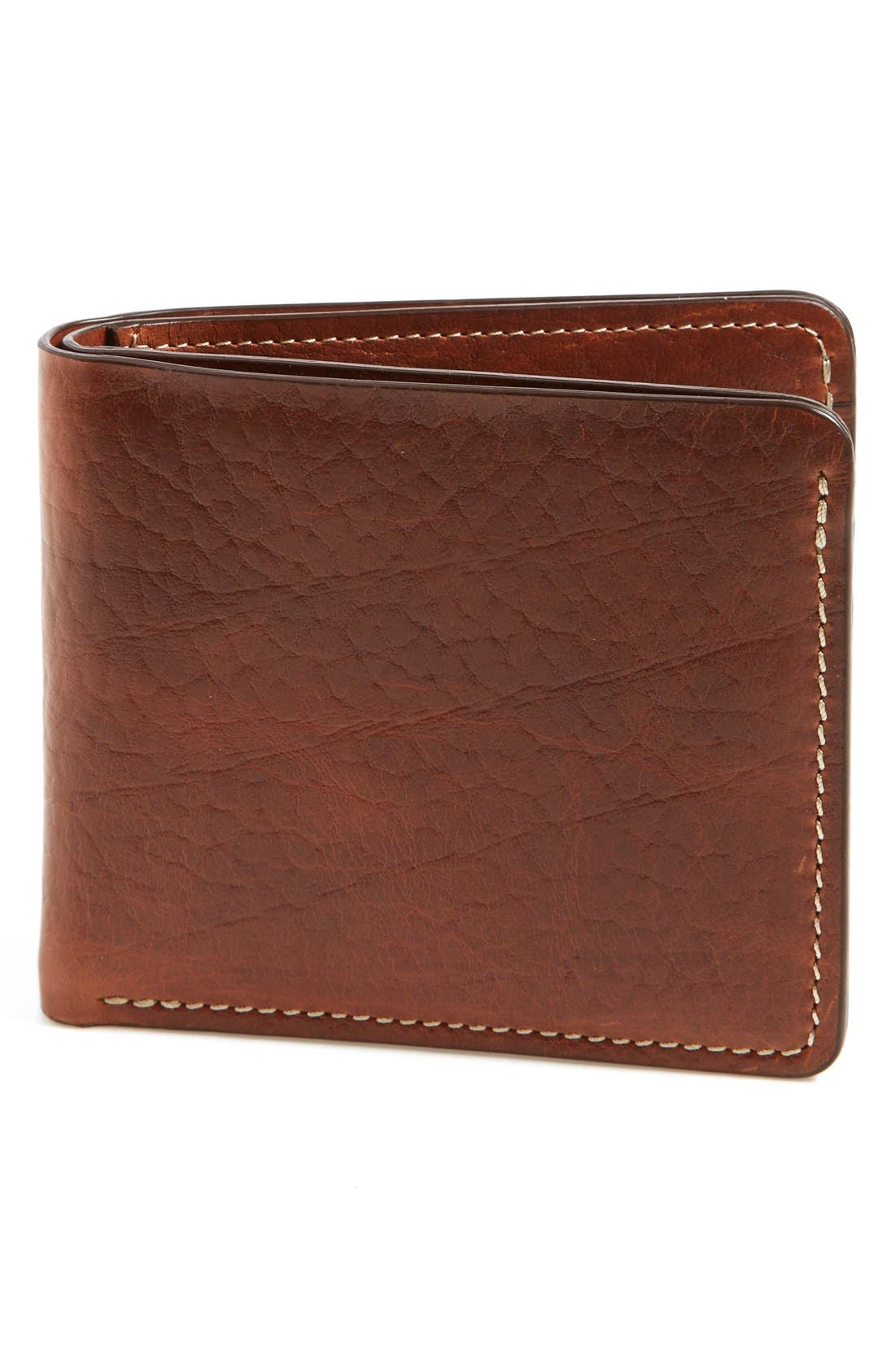 Trask 'Jackson' Bison Leather Wallet