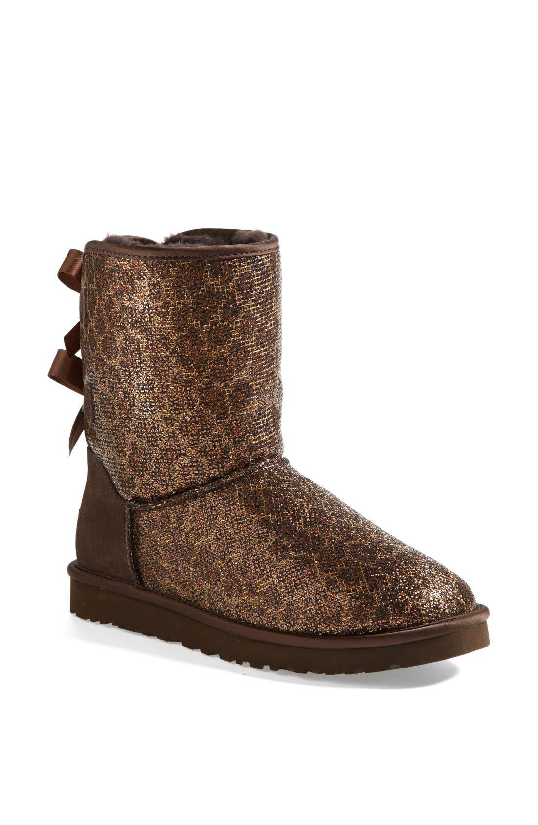 Alternate Image 1 Selected - UGG® Australia 'Bailey Bow Glitter' Boot (Women)