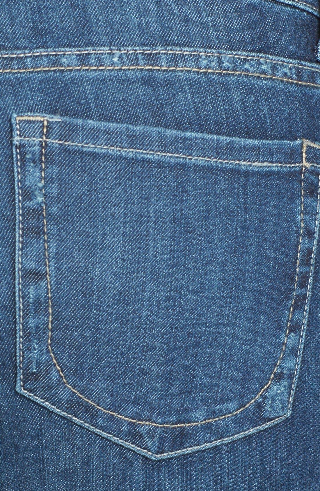 Alternate Image 3  - KUT from the Kloth 'Mia' Stretch Skinny Jeans (Effect) (Regular & Petite)