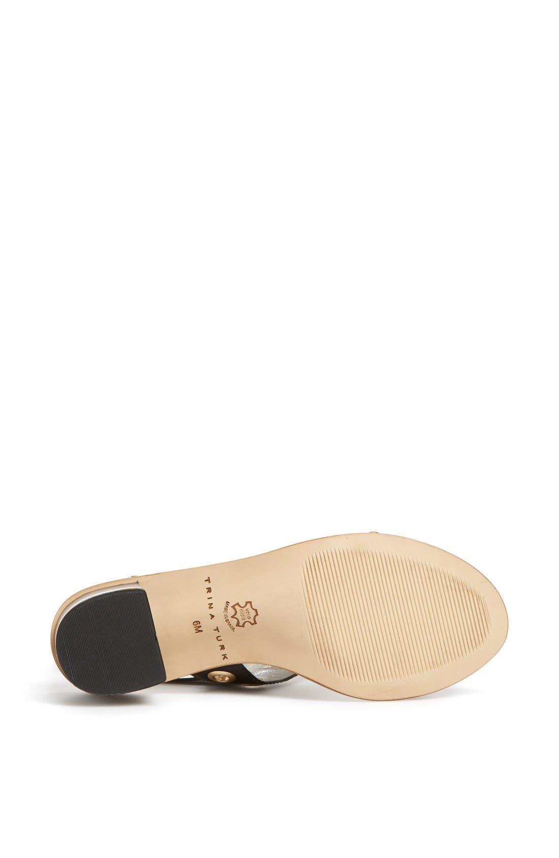 Alternate Image 4  - Trina Turk 'Atwater' Studded Slingback Sandal