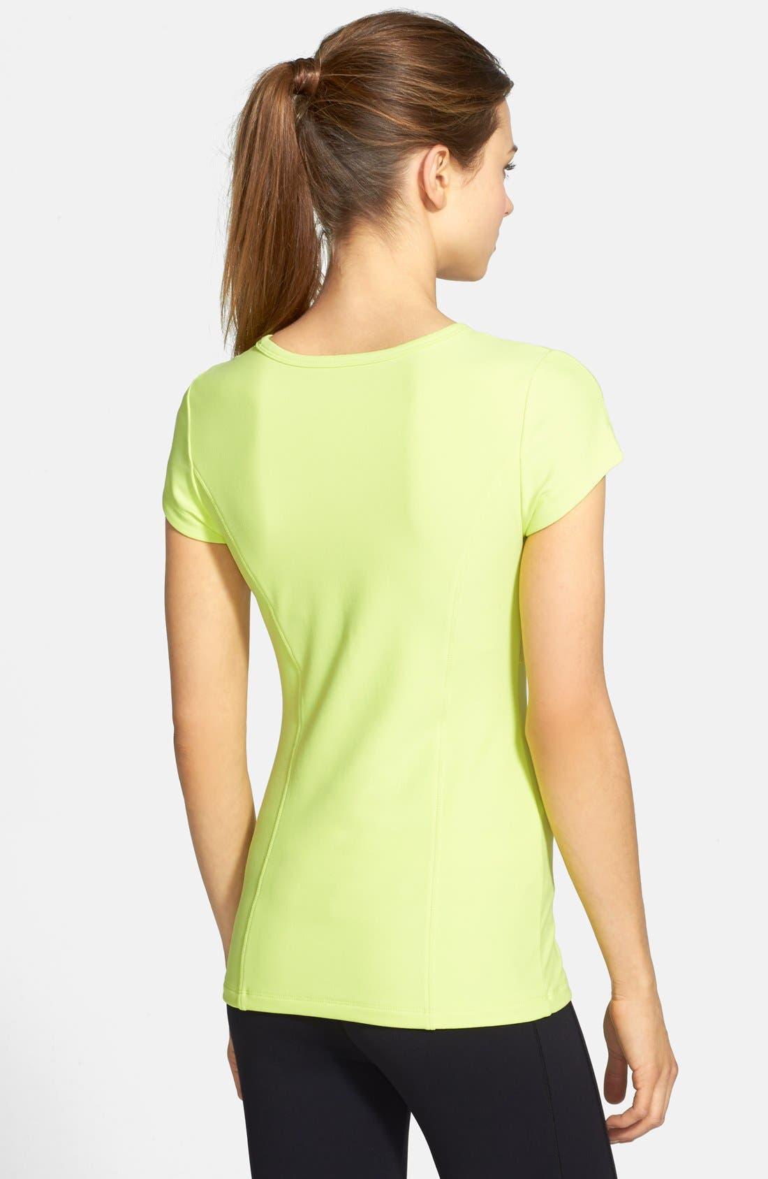 Alternate Image 2  - MSP by Miraclesuit® Miraslim Cap Sleeve Top