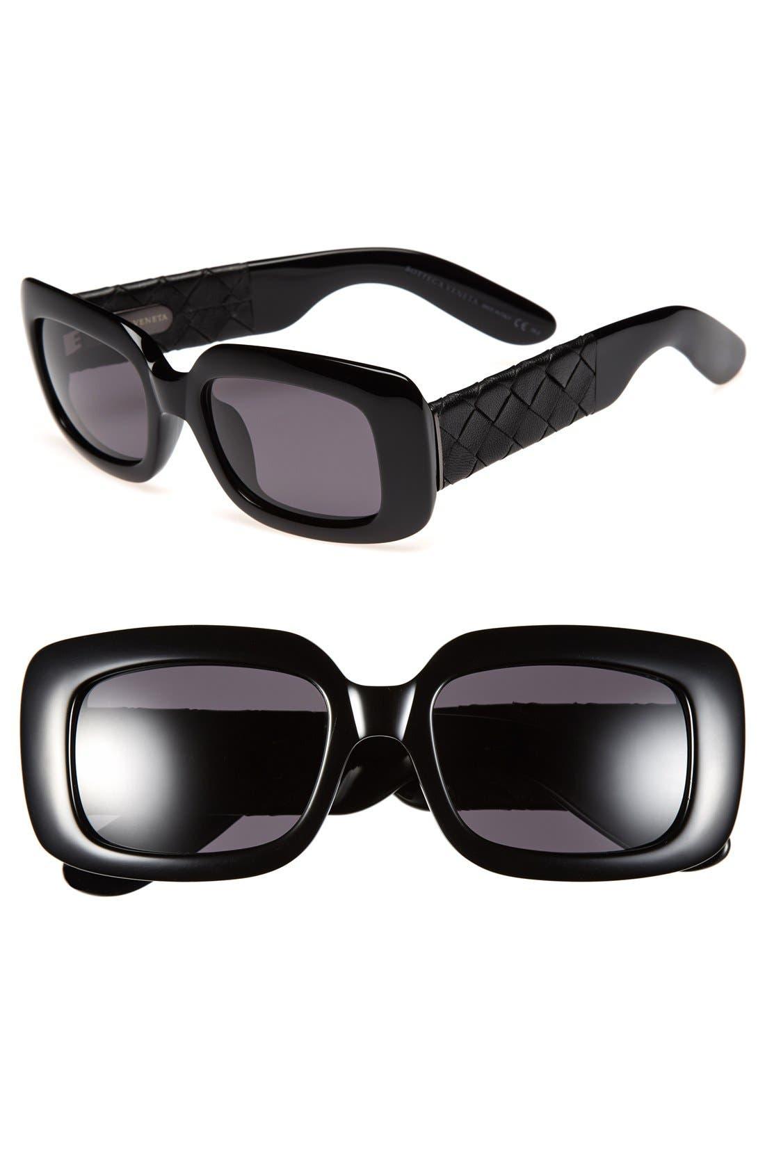 Alternate Image 1 Selected - Bottega Veneta 52mm Sunglasses