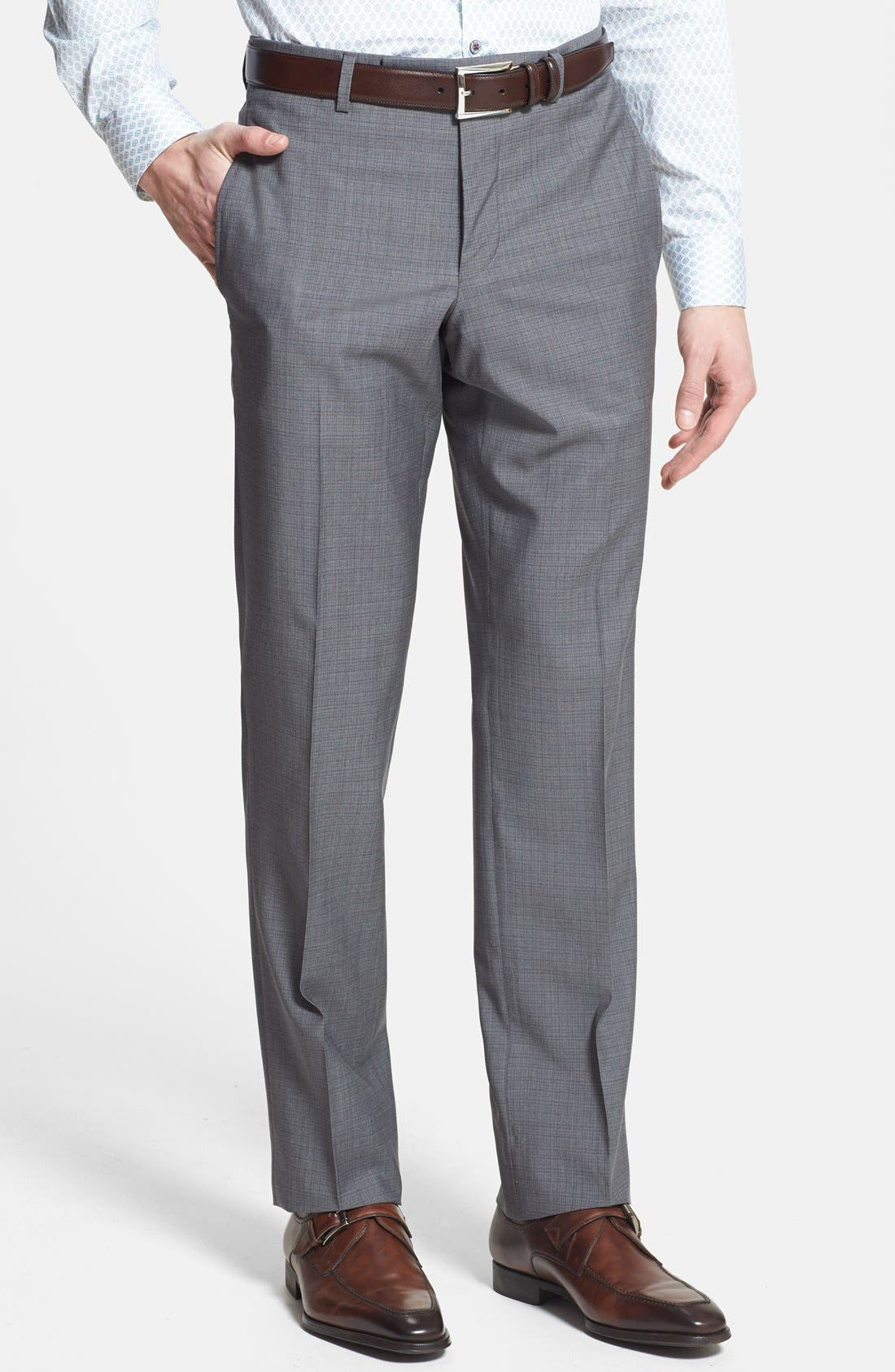 Alternate Image 4  - Ted Baker London 'Jones' Trim Fit Wool Suit