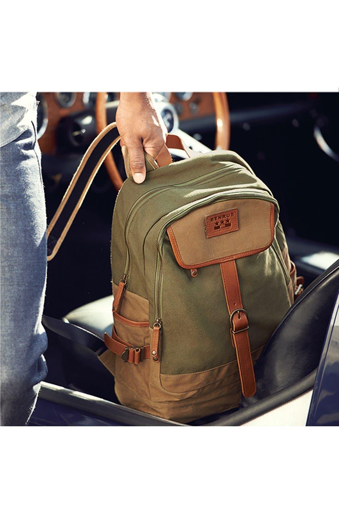 Alternate Image 5  - Benrus 'Sentry' Backpack