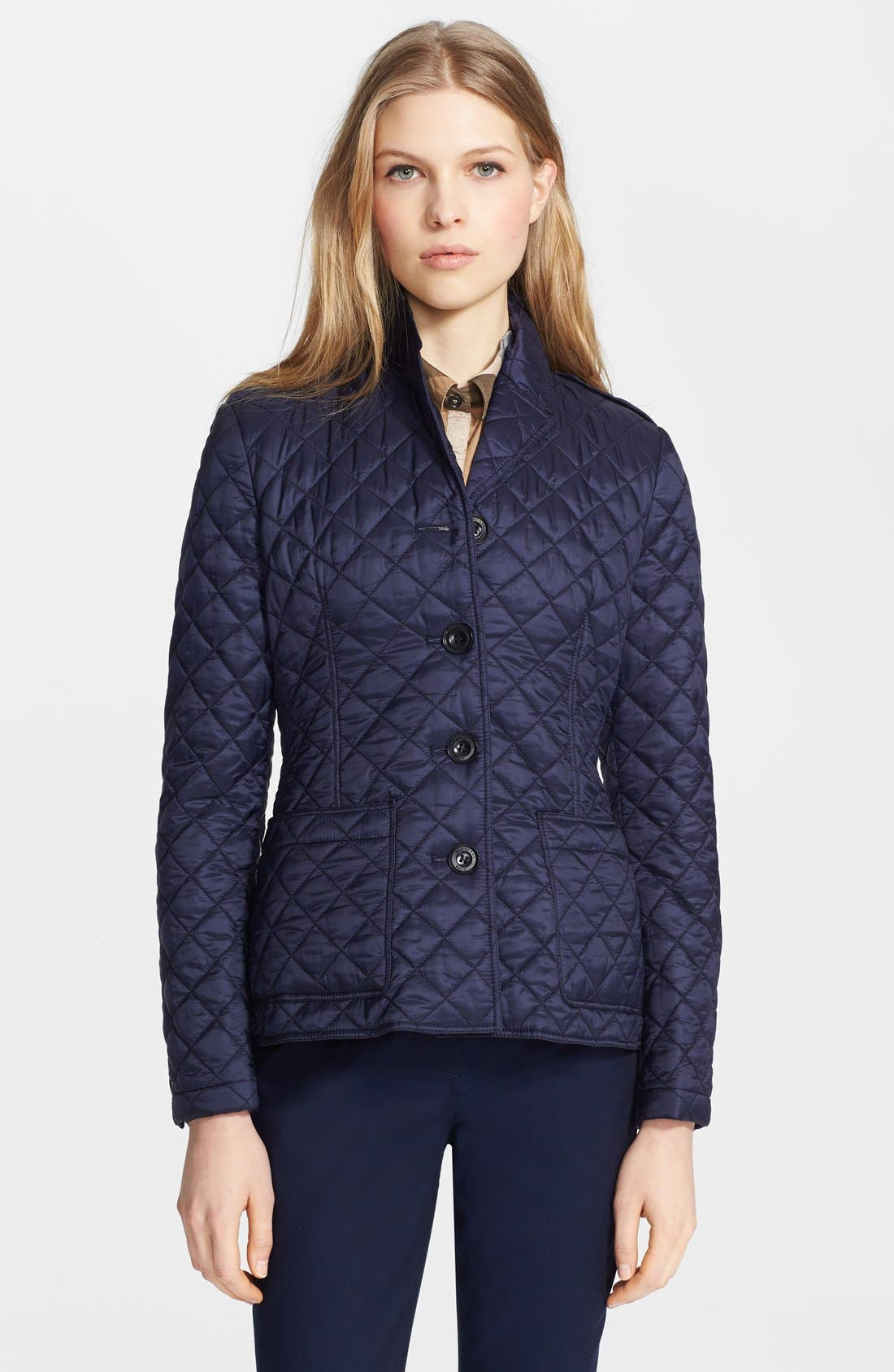 Alternate Image 4  - Burberry Brit 'Caulfield' Quilted Jacket