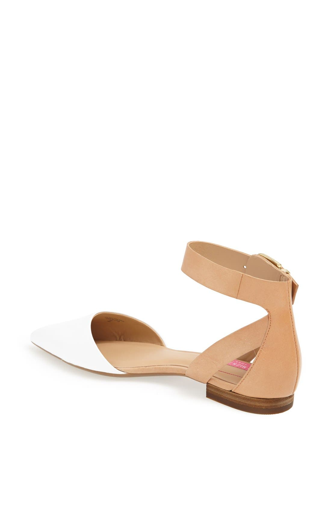 Alternate Image 2  - Isaac Mizrahi New York 'Evelyn' Leather Flat