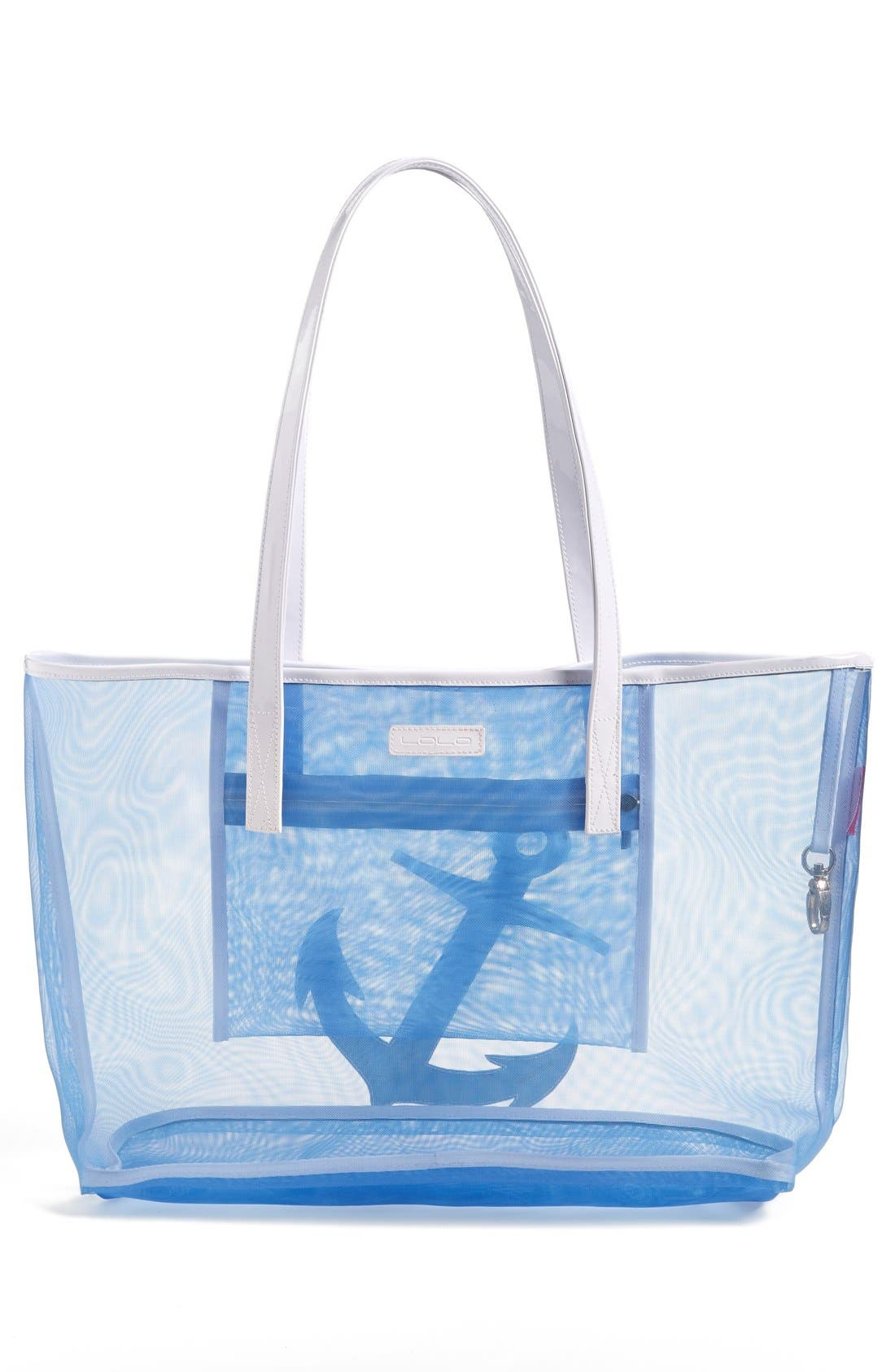 Alternate Image 4  - Lolo 'Amy - Anchor' Mesh Tote