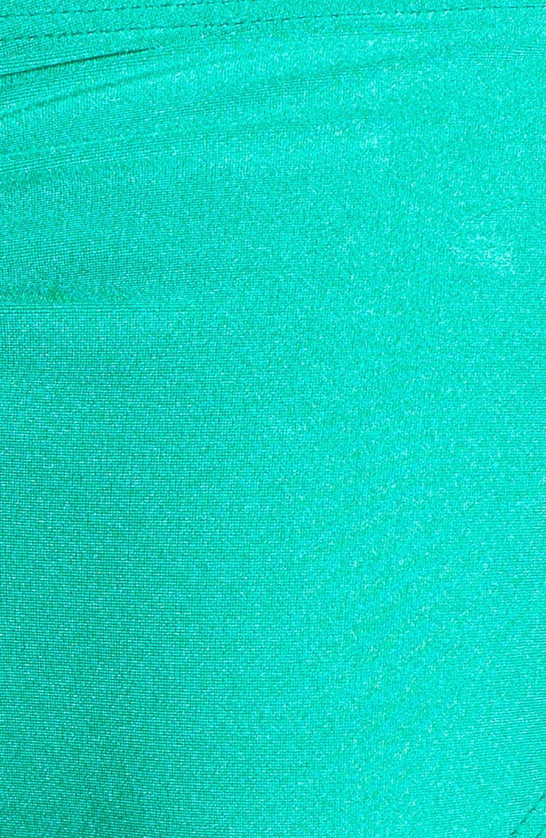 Alternate Image 5  - PilyQ 'Green Jade' Side Tie Bikini Bottoms