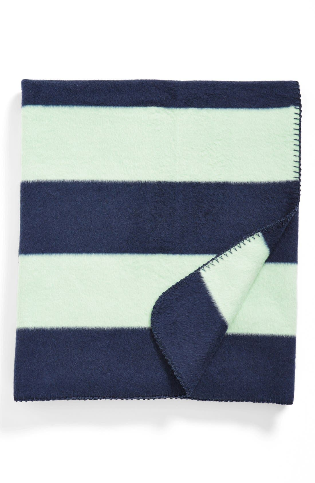 Alternate Image 1 Selected - Kennebunk Rugby Stripe Throw