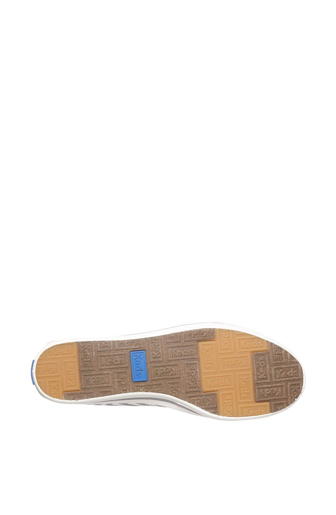 Alternate Image 4  - Keds® 'Crash Back - Zigzag' Canvas Slip-On Sneaker (Women)