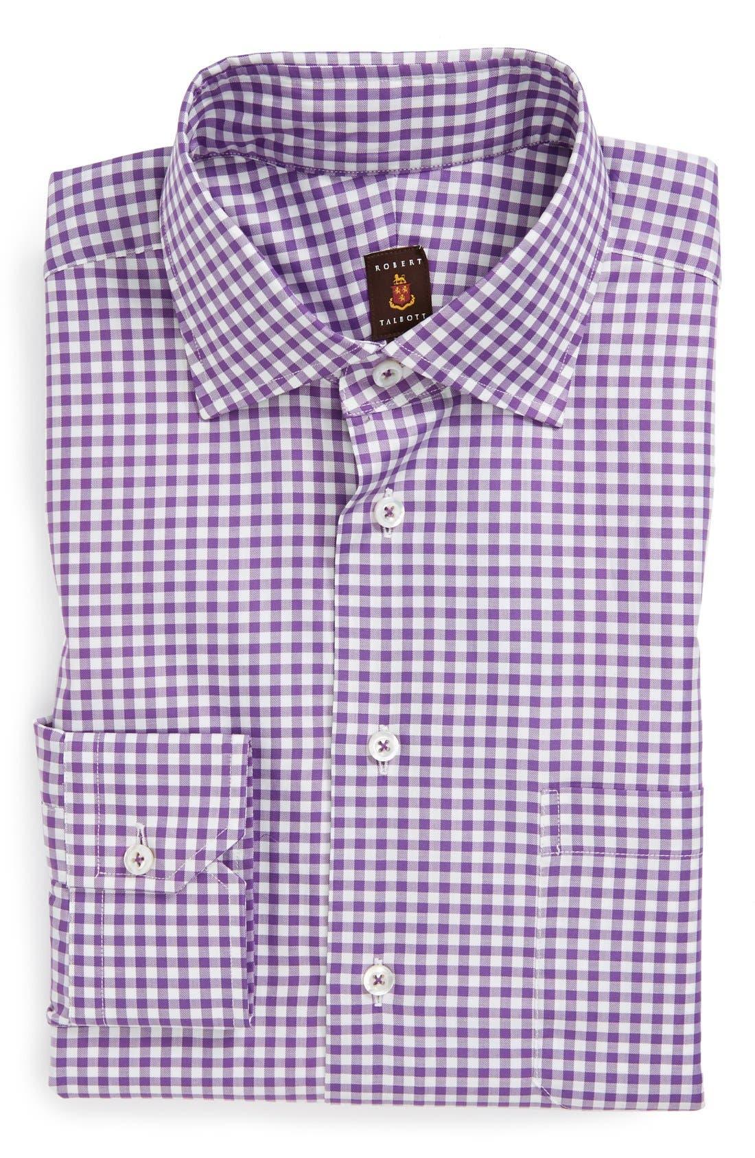 Alternate Image 1 Selected - Robert Talbott Twill Check Classic Fit Dress shirt