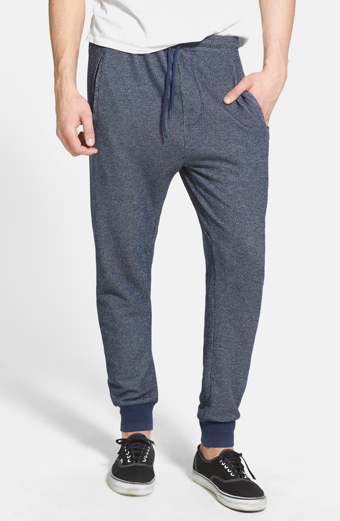 Alternate Image 1 Selected - Topman Carrot Fit Jogger Sweatpants