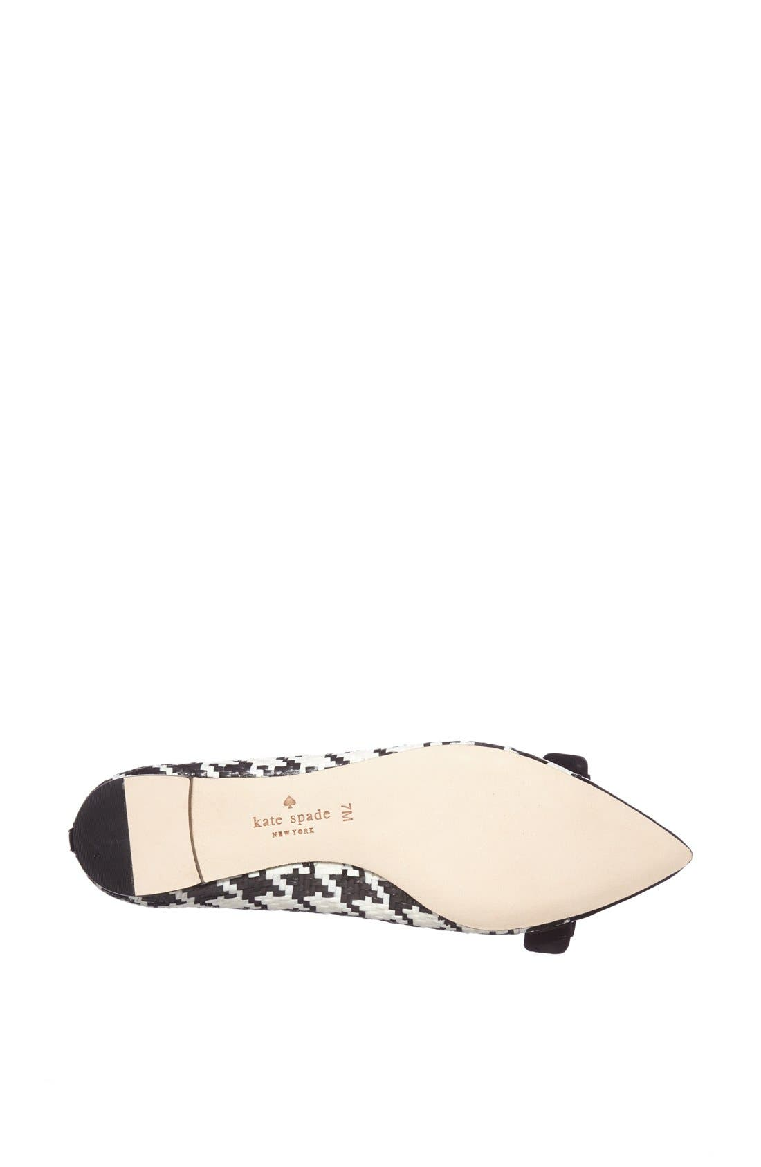 Alternate Image 3  - kate spade new york 'gabe too' pointy toe flat