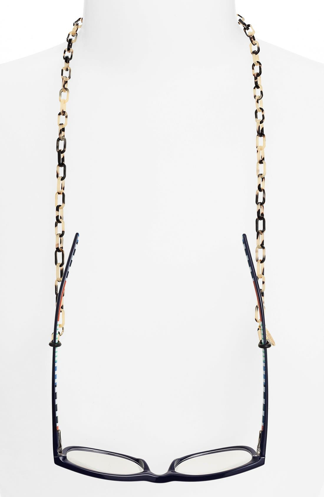L. Erickson 'Demi' Mini Oval Link Eyewear Chain