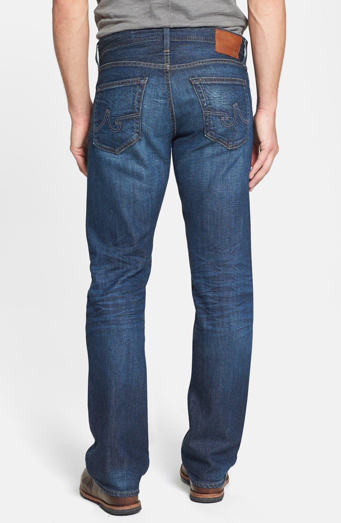 Alternate Image 2  - AG 'Protégé' Straight Leg Jeans (8 Year Gust)