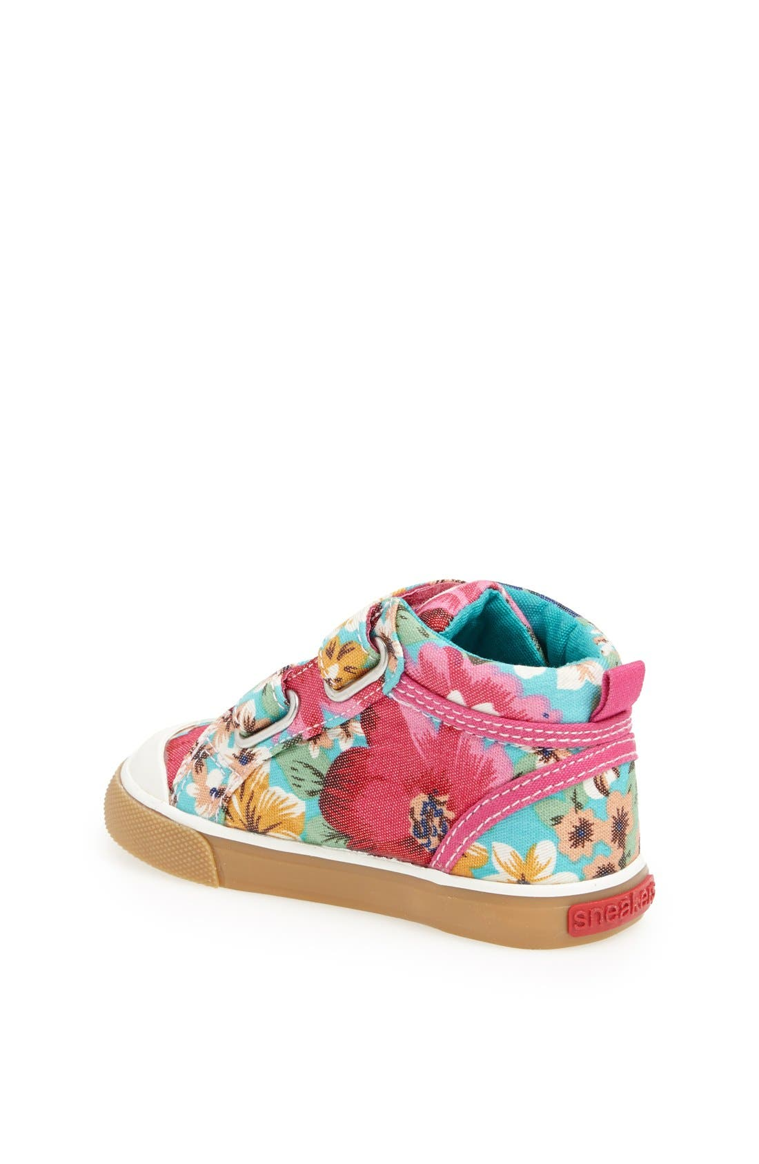 Alternate Image 2  - See Kai Run 'Caitlyn' High Top Sneaker (Baby, Walker & Toddler)