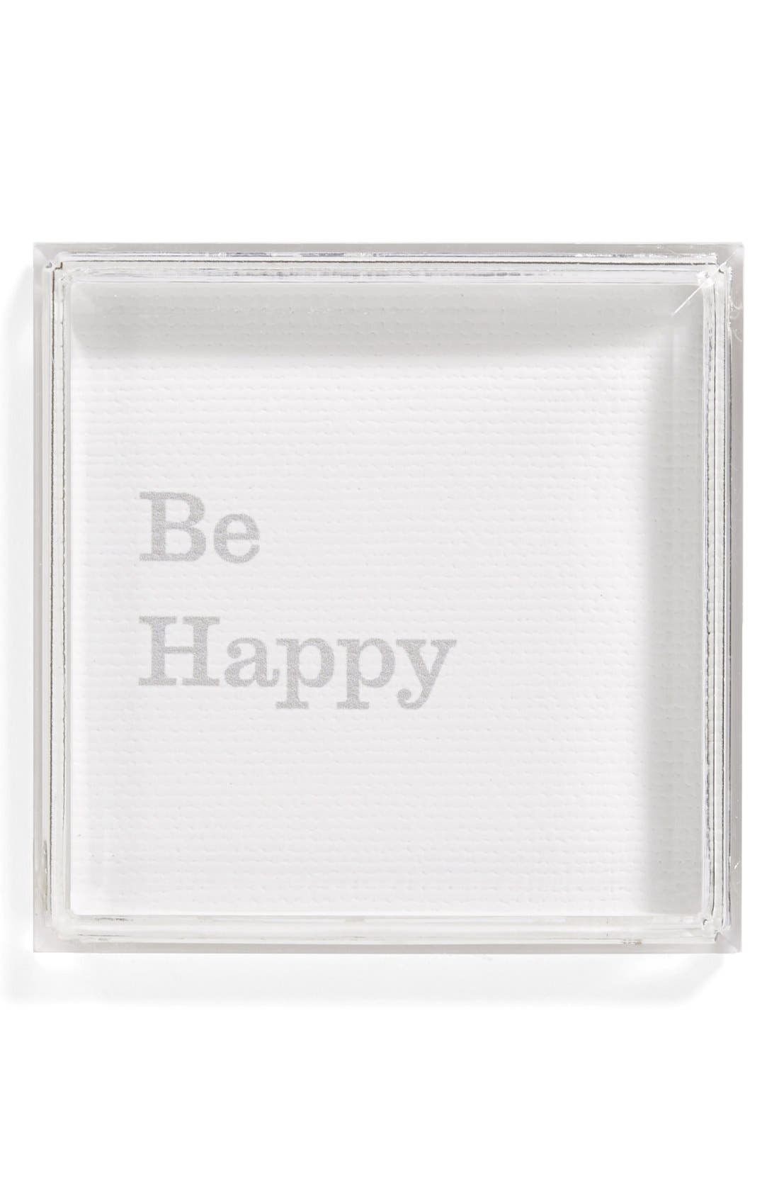 Alternate Image 1 Selected - Petal Lane 'Be Happy' Magnet