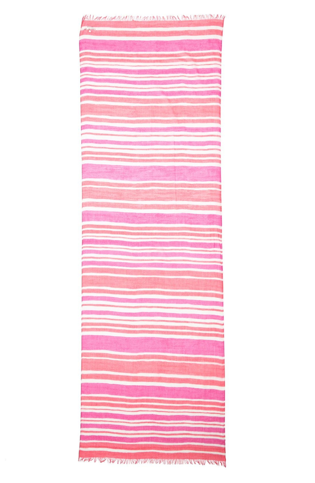 Alternate Image 2  - kate spade new york 'capri stripe' scarf