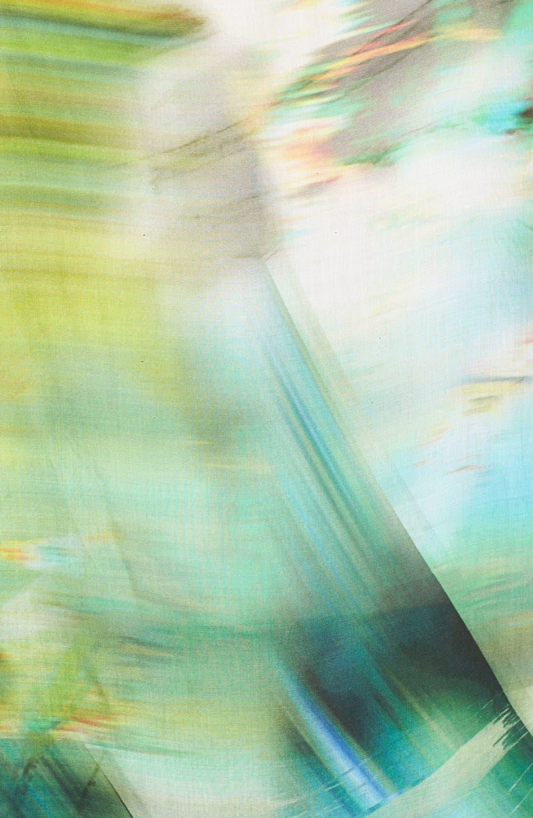 Alternate Image 3  - Elie Tahari 'Lori' Print Sleeveless Blouse