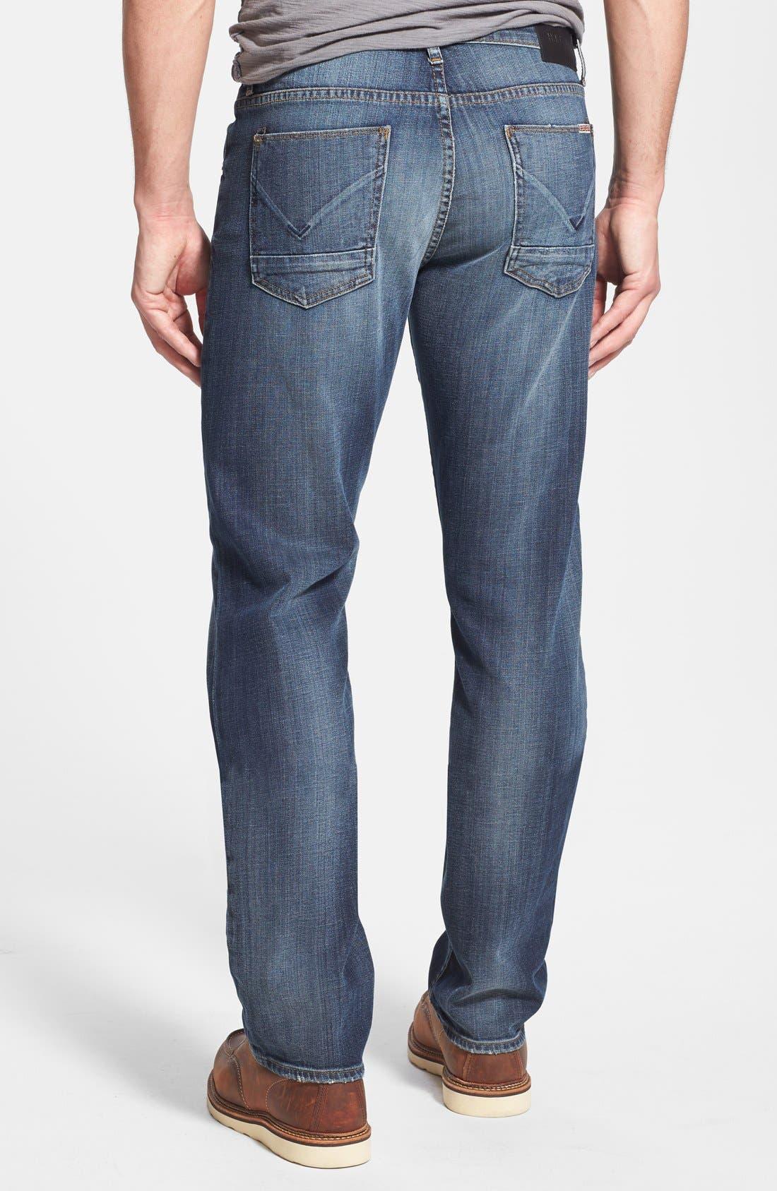 Alternate Image 2  - Hudson Jeans 'Byron' Straight Leg Jeans (Down South)