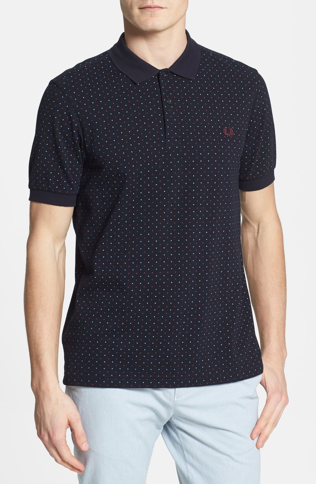 Main Image - Fred Perry Slim Fit Cotton Polo