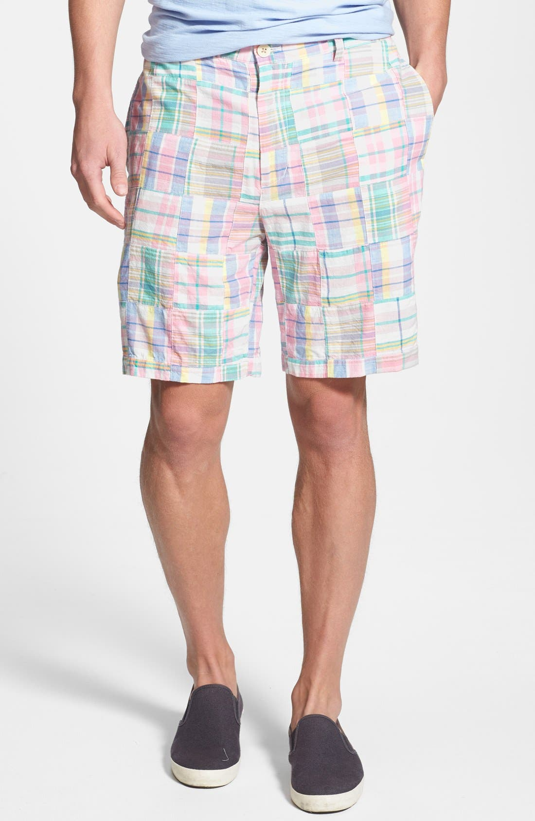 Alternate Image 1 Selected - Vineyard Vines Classic Fit Madras Shorts