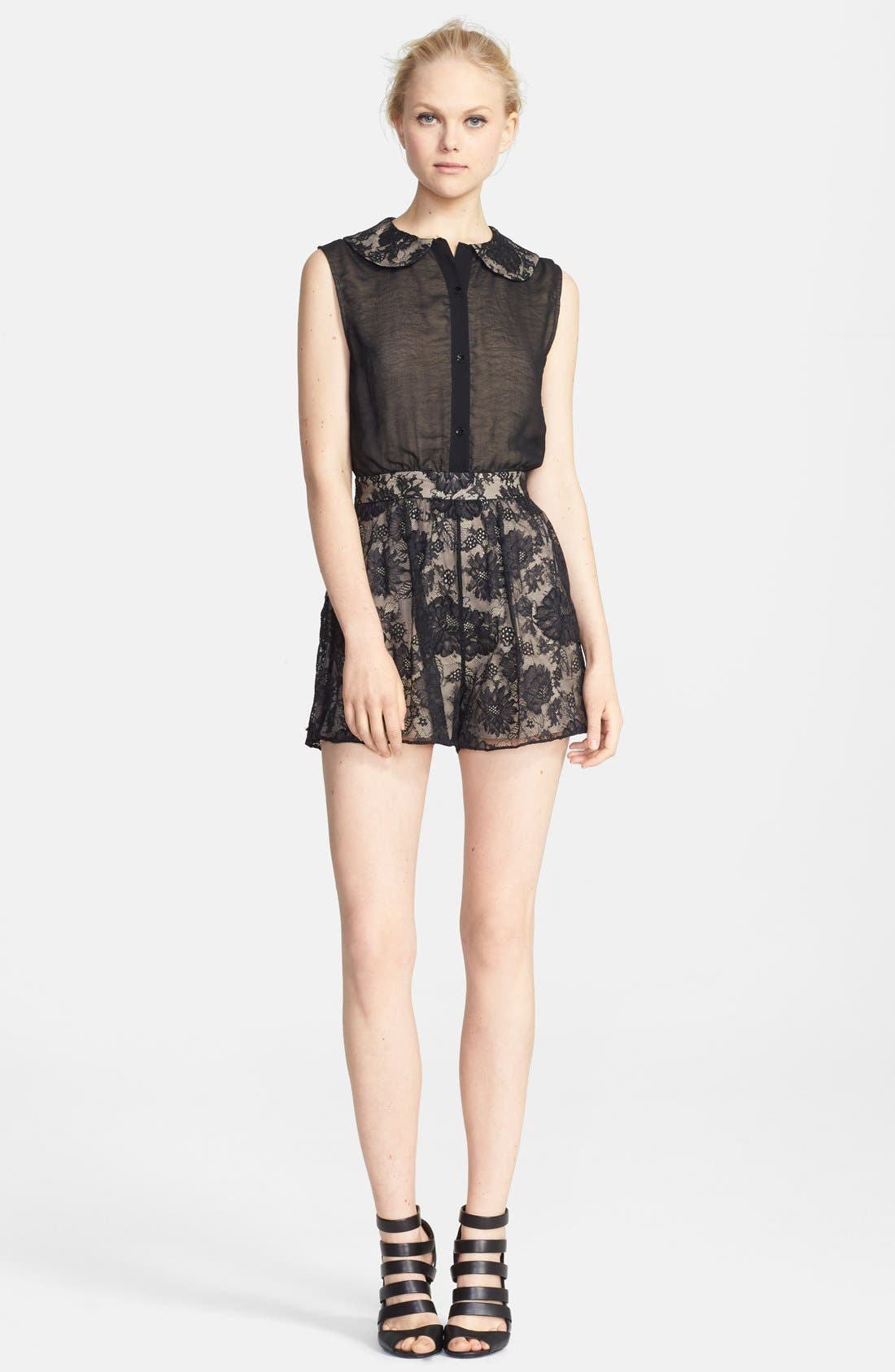 Alternate Image 1 Selected - Alice + Olivia 'Talitha' Romper