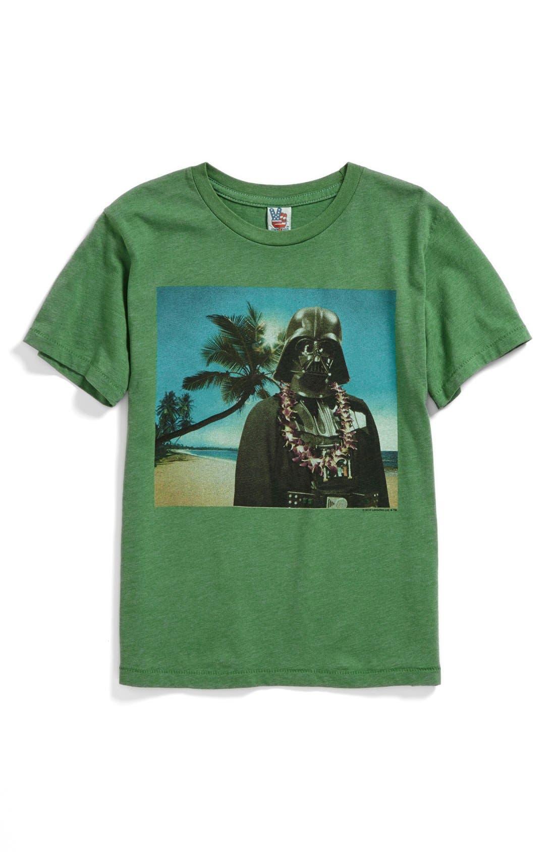 Main Image - Junk Food 'Vader Vacation' T-Shirt (Toddler Boys)