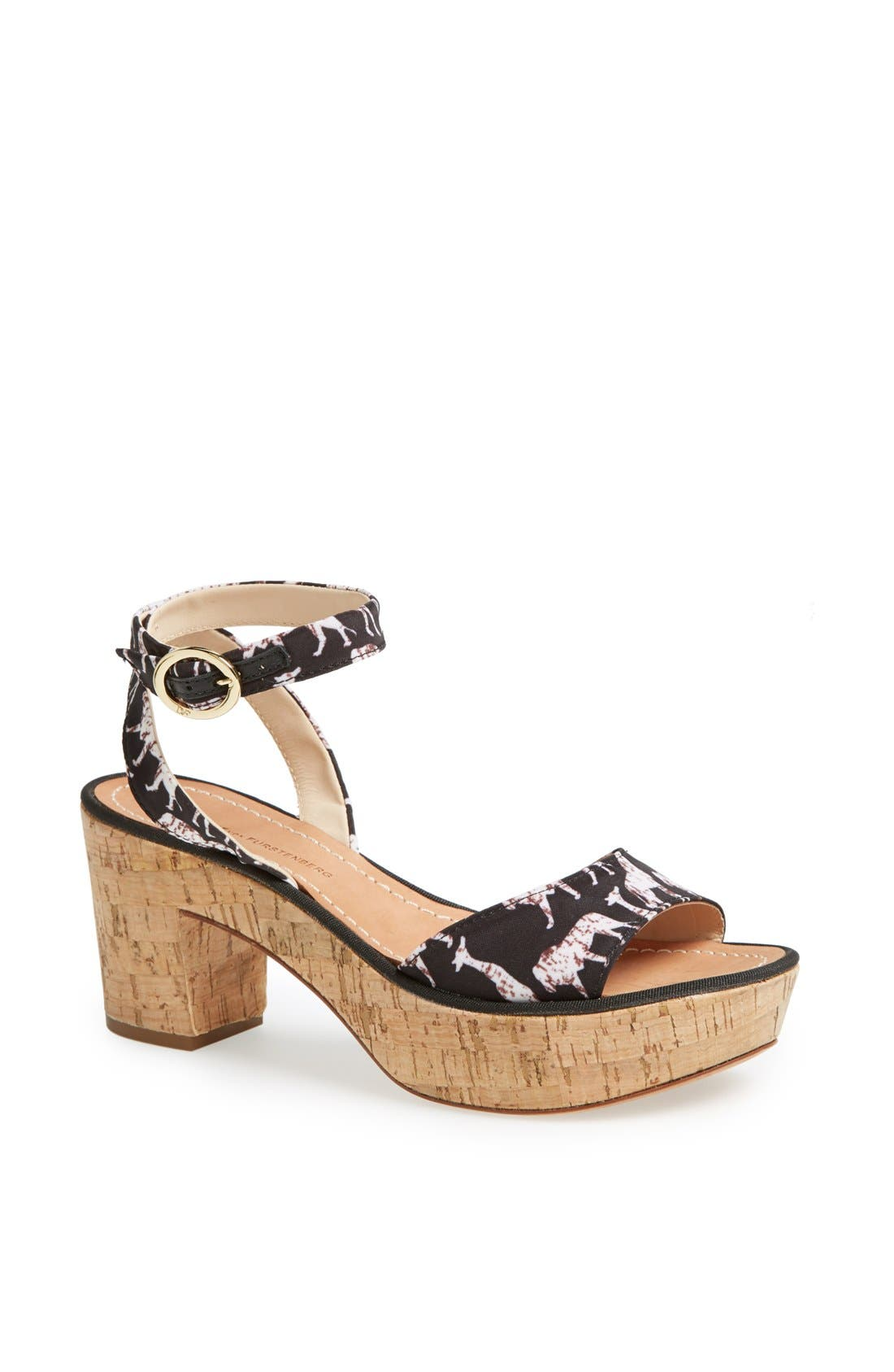 Alternate Image 1 Selected - Diane von Furstenberg 'Odelia' Sandal