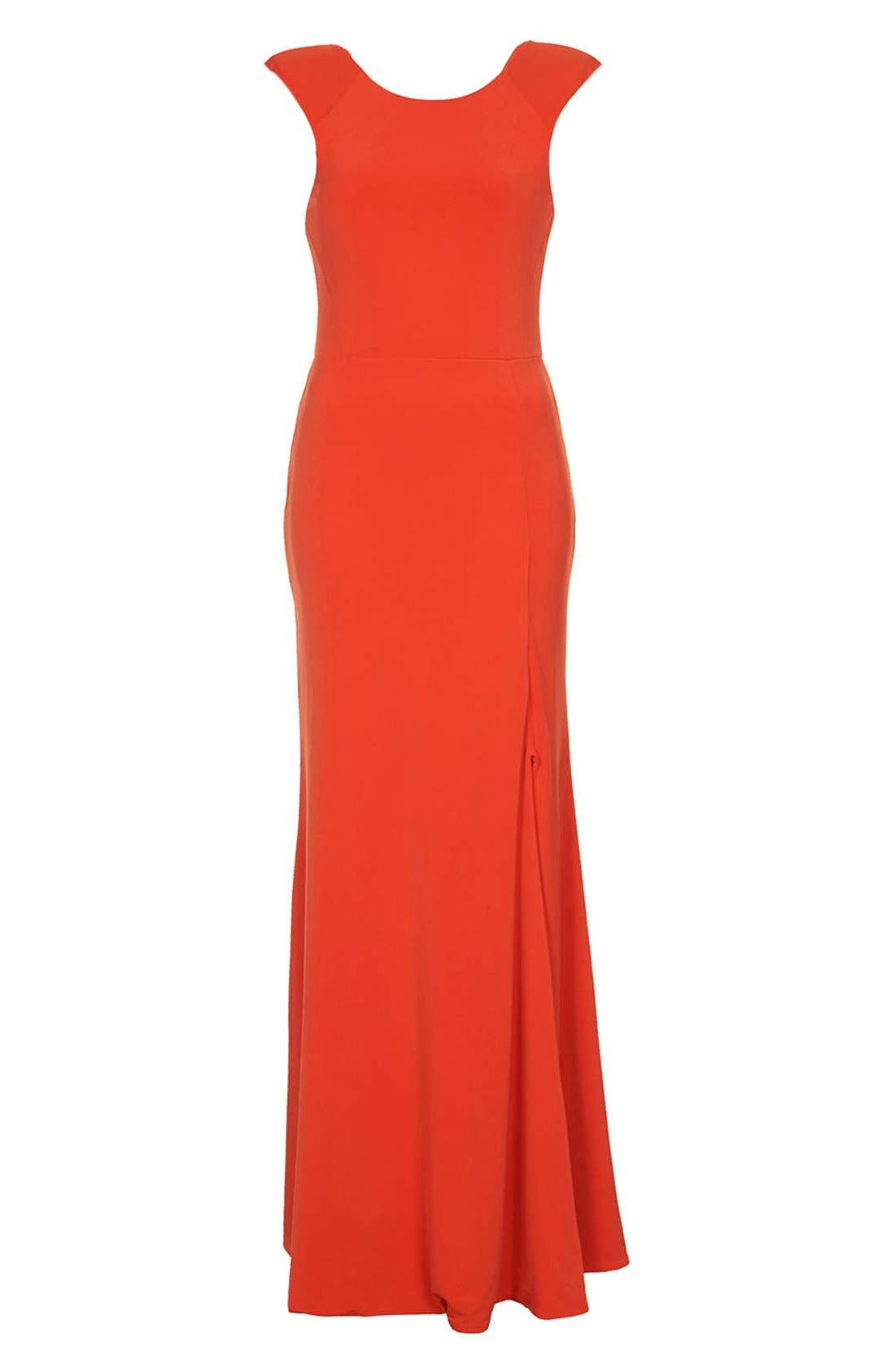 Alternate Image 3  - Topshop Scoop Back Jersey Maxi Dress