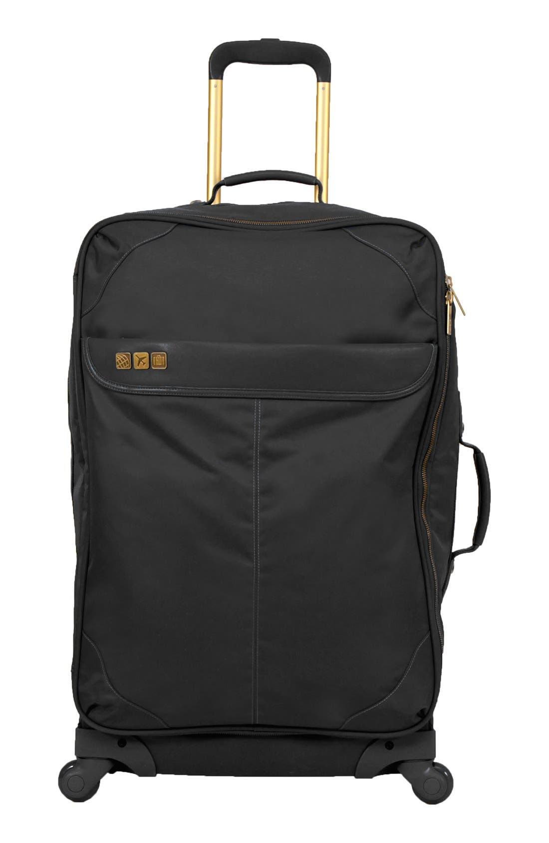 Main Image - Flight 001 'Avionette' Rolling Check-In Suitcase (26 Inch)