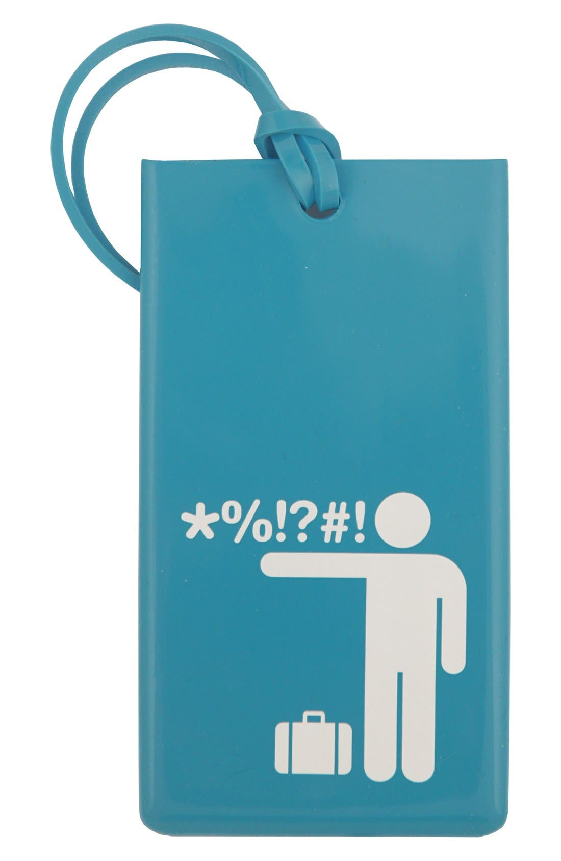 Main Image - Flight 001 'Obscenity' Luggage Tag
