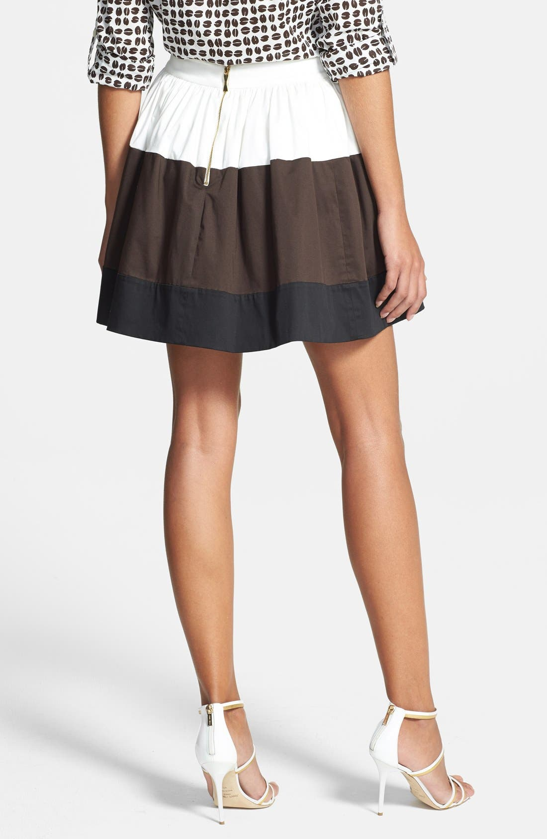 Alternate Image 2  - kate spade new york 'coreen' colorblock skirt