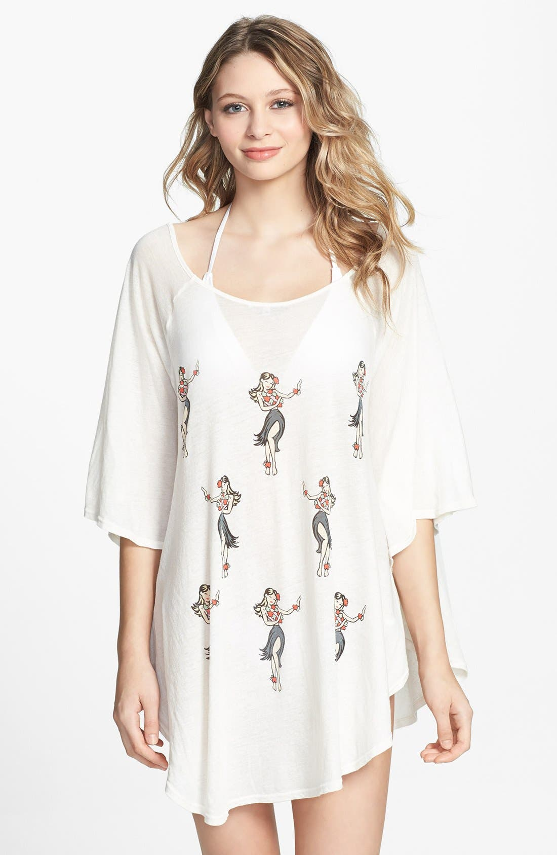 Alternate Image 1 Selected - Wildfox 'Life's a Beach' Cover-Up Tunic