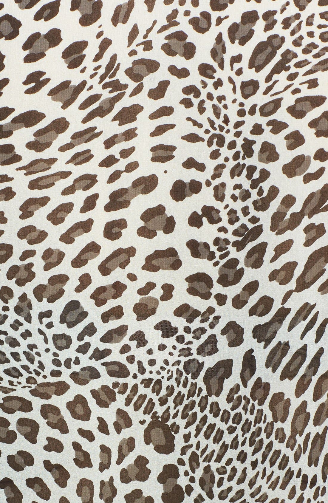 Alternate Image 3  - Two by Vince Camuto 'Leopard Stream' Batwing Sleeve Top (Plus Size)