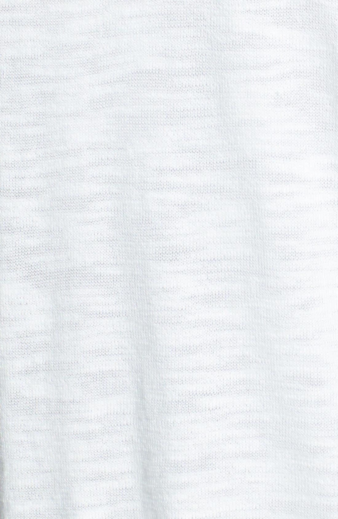 Alternate Image 3  - Two by Vince Camuto Chiffon & Slub Knit Sweater