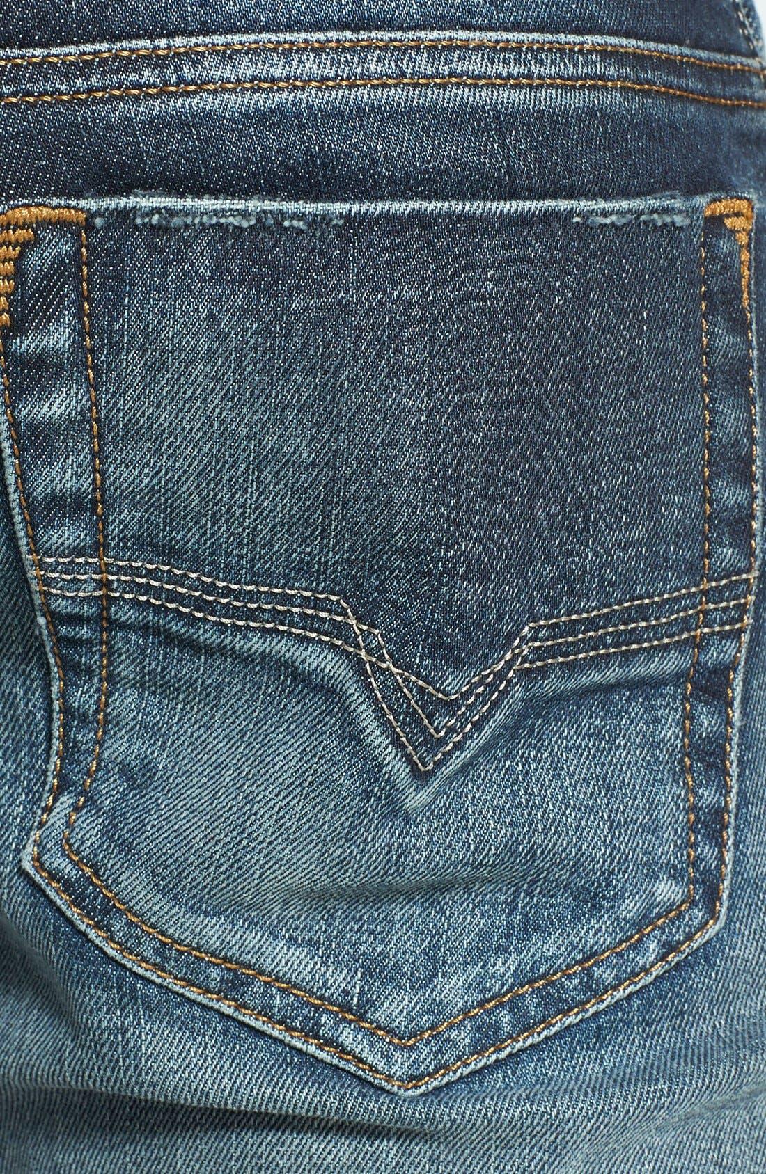 Alternate Image 4  - DIESEL® Safado Slim Fit Jeans (885K)