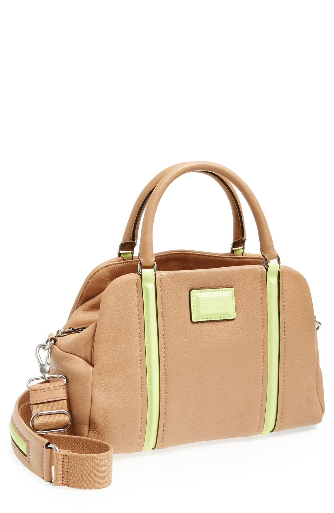 Main Image - MARC BY MARC JACOBS 'Q' Leather Satchel