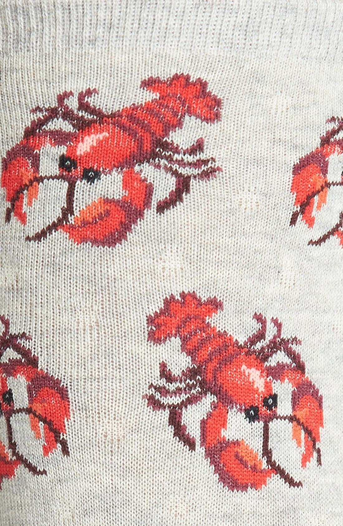 Alternate Image 2  - Hot Sox 'Lobster' Crew Socks
